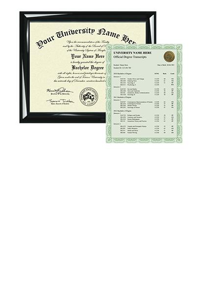 custom bachelor diplomas and degrees