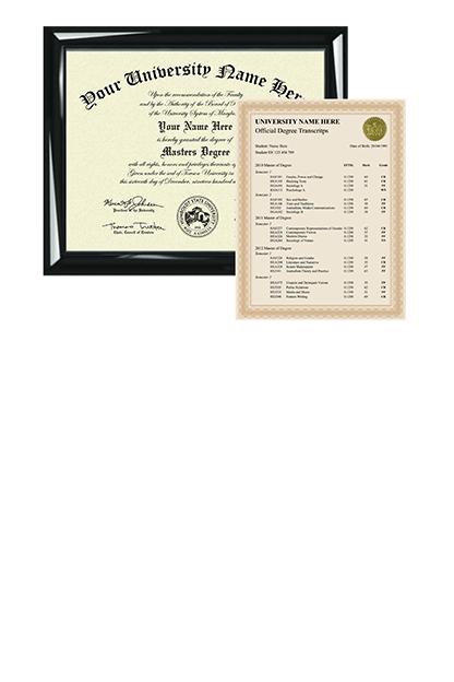custom master diplomas and degrees