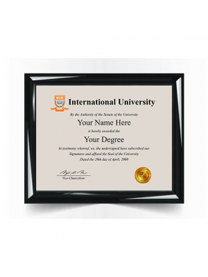 replacement international college university diploma degree certificate