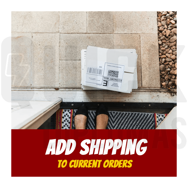 Forgot to add shipping fees to your Quick Diplomas purchase? No problem. Here we can pay shipping costs and apply them to your original order.
