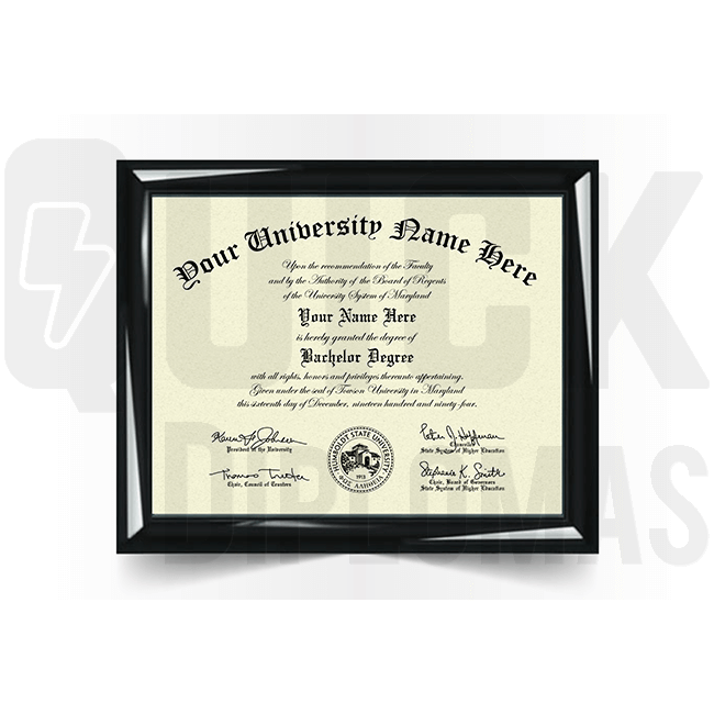 Realistic bachelor diploma replacement. Most templates! Amazing quality! Ships fast!