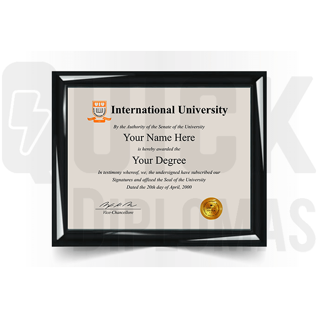 Get a novelty international college diploma replacement! Germany, Norway, Netherlands & more. Mind blowing realistic!