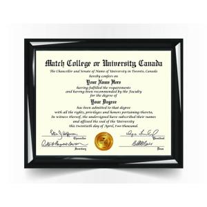 College University Diploma Match, Canada