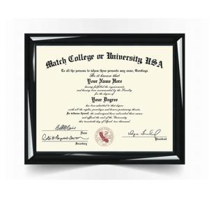 College University Diploma Match, USA