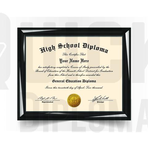 High School Diploma Match