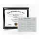 replacement associate diploma degree with transcript mark sheet