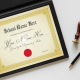 Diploma Padded Folder, Graduation