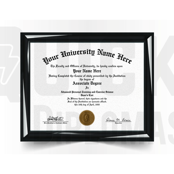 Associate Degree Diploma