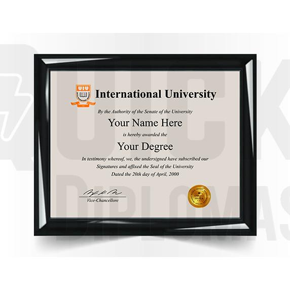 College University Diploma Match, International